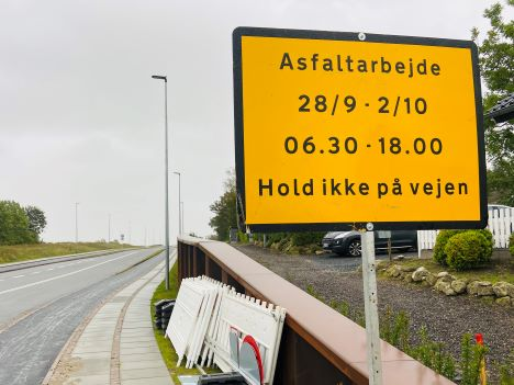 Klepholmvej i Støvring spærres i 5 dage